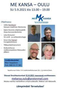 Me Kansa 5.9. Oulu